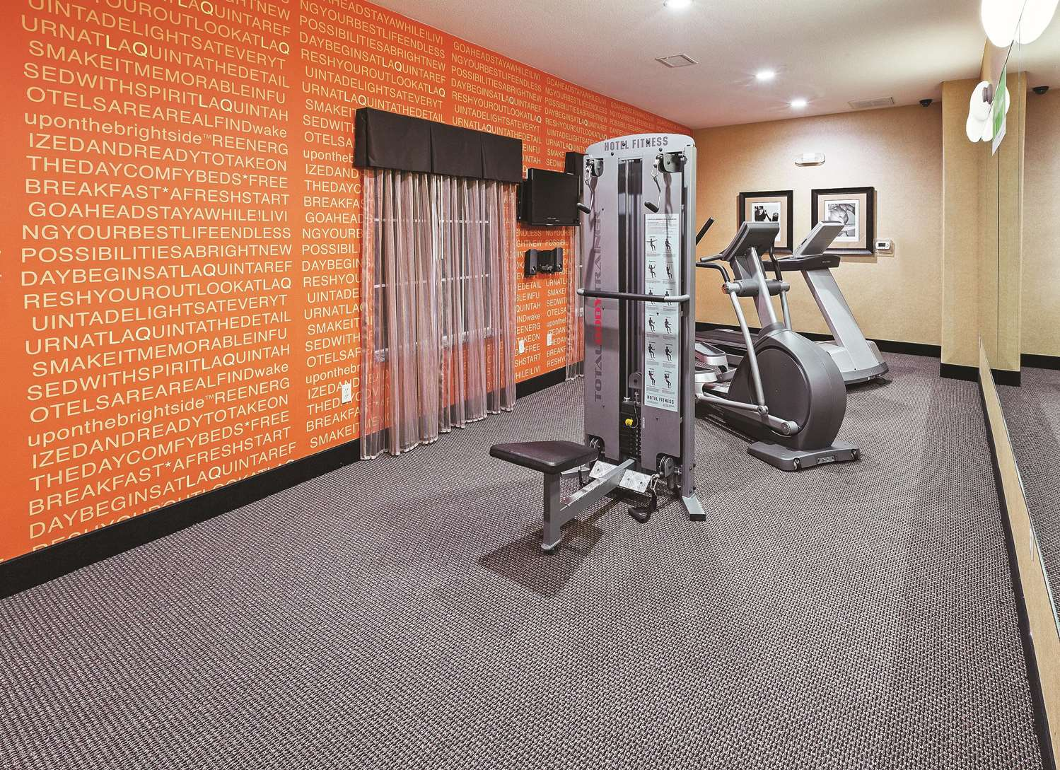 Fitness/ Exercise Room - La Quinta Inn & Suites McAlester