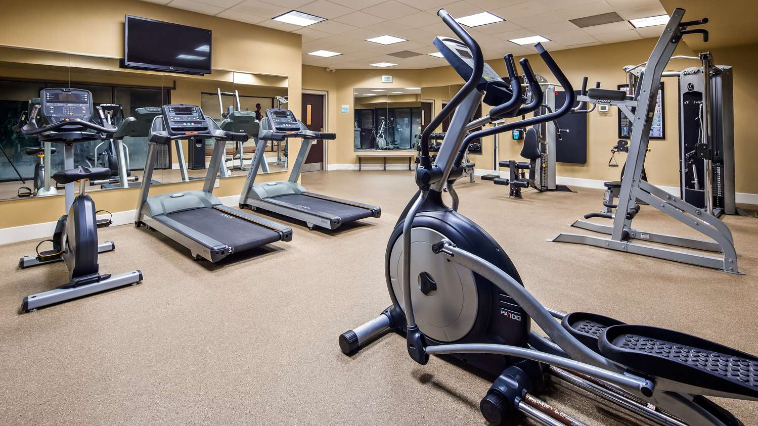 Fitness/ Exercise Room - Best Western Okemos Hotel & Suites