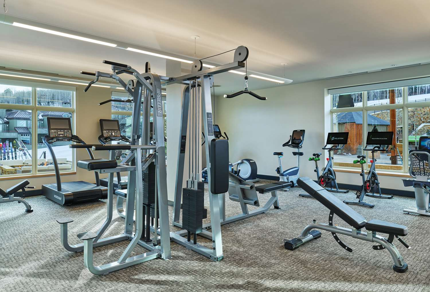 Fitness/ Exercise Room - Viceroy Snowmass Resort Snowmass Village