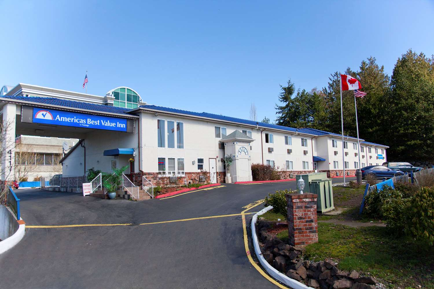 Exterior view - Americas Best Value Inn Lynnwood