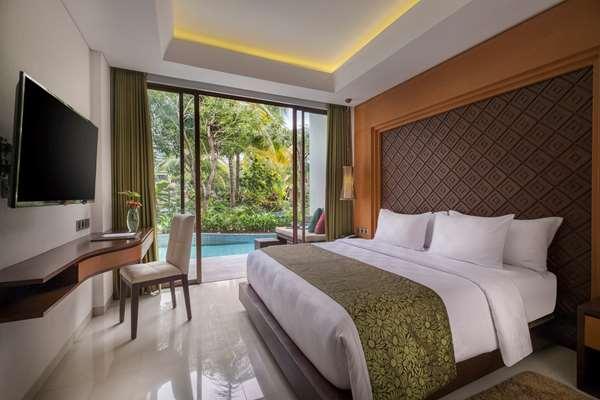 Hotel GOLDEN TULIP JINENG RESORT BALI - Deluxe Room Access - Pool View