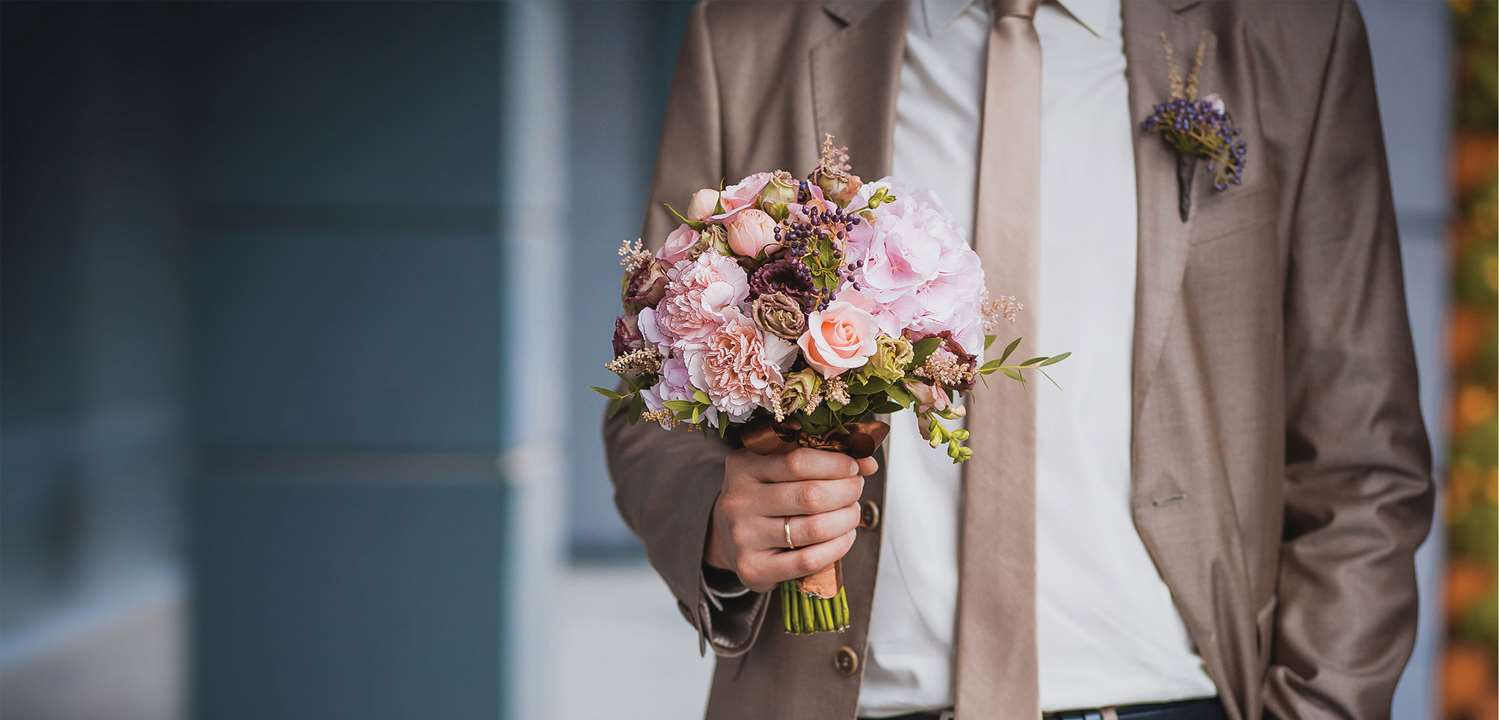 Blissful wedding