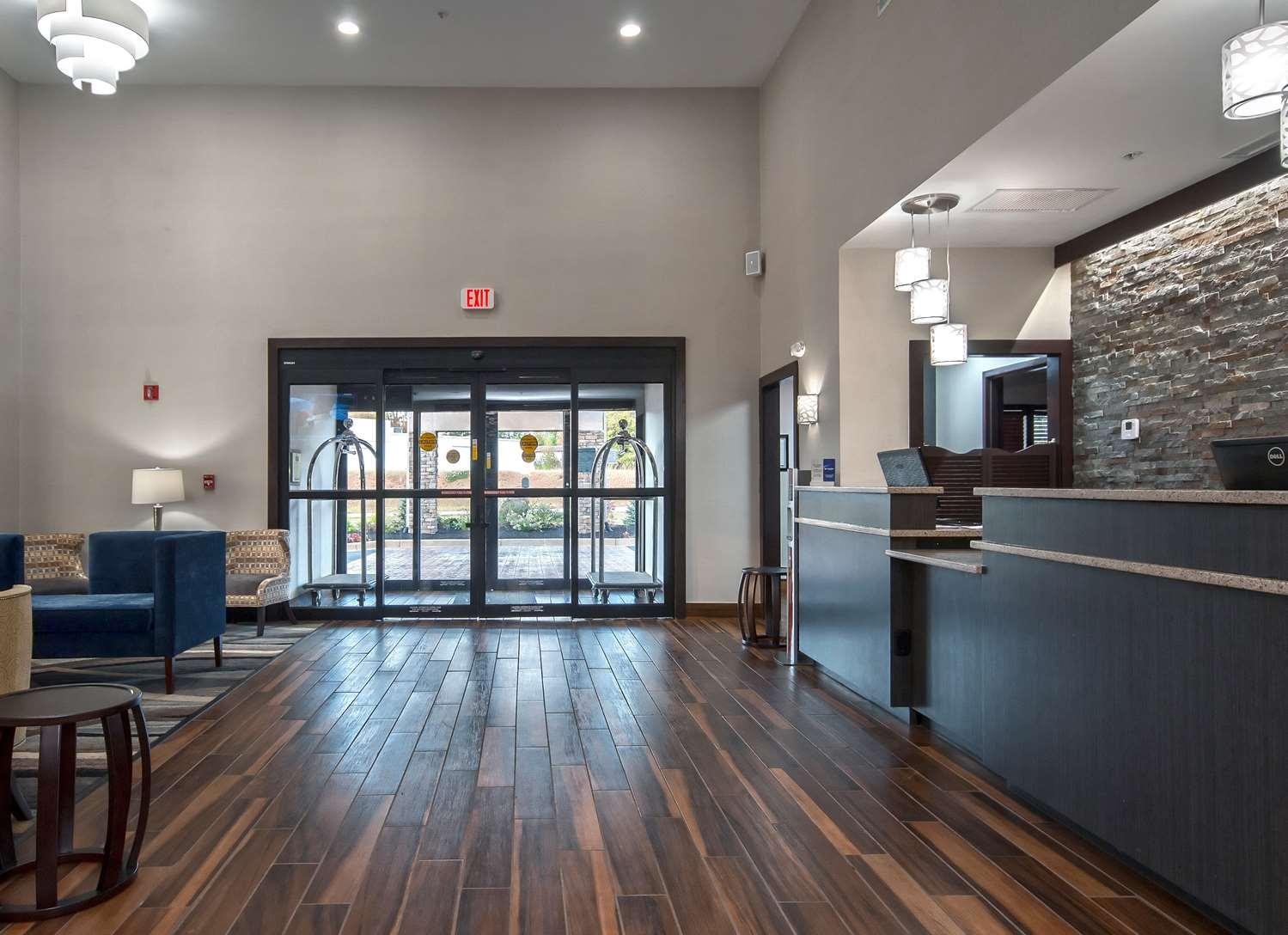 Lobby - Best Western Travelers Rest Motor Inn