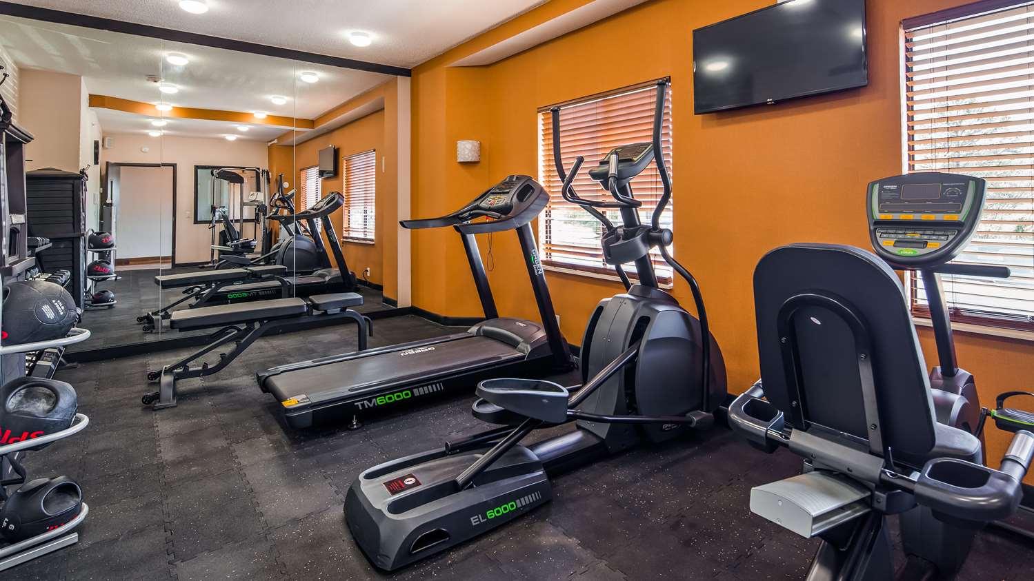 Fitness/ Exercise Room - Best Western Travelers Rest Motor Inn