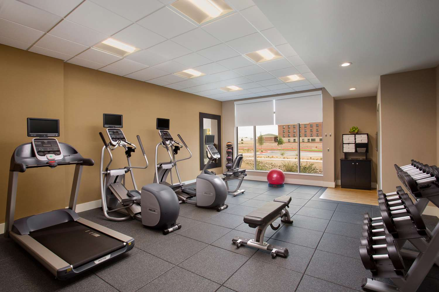 Fitness/ Exercise Room - Hilton Garden Inn Lubbock