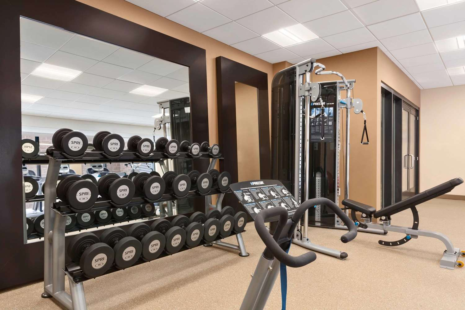 Fitness/ Exercise Room - Homewood Suites by Hilton Convention Center DC