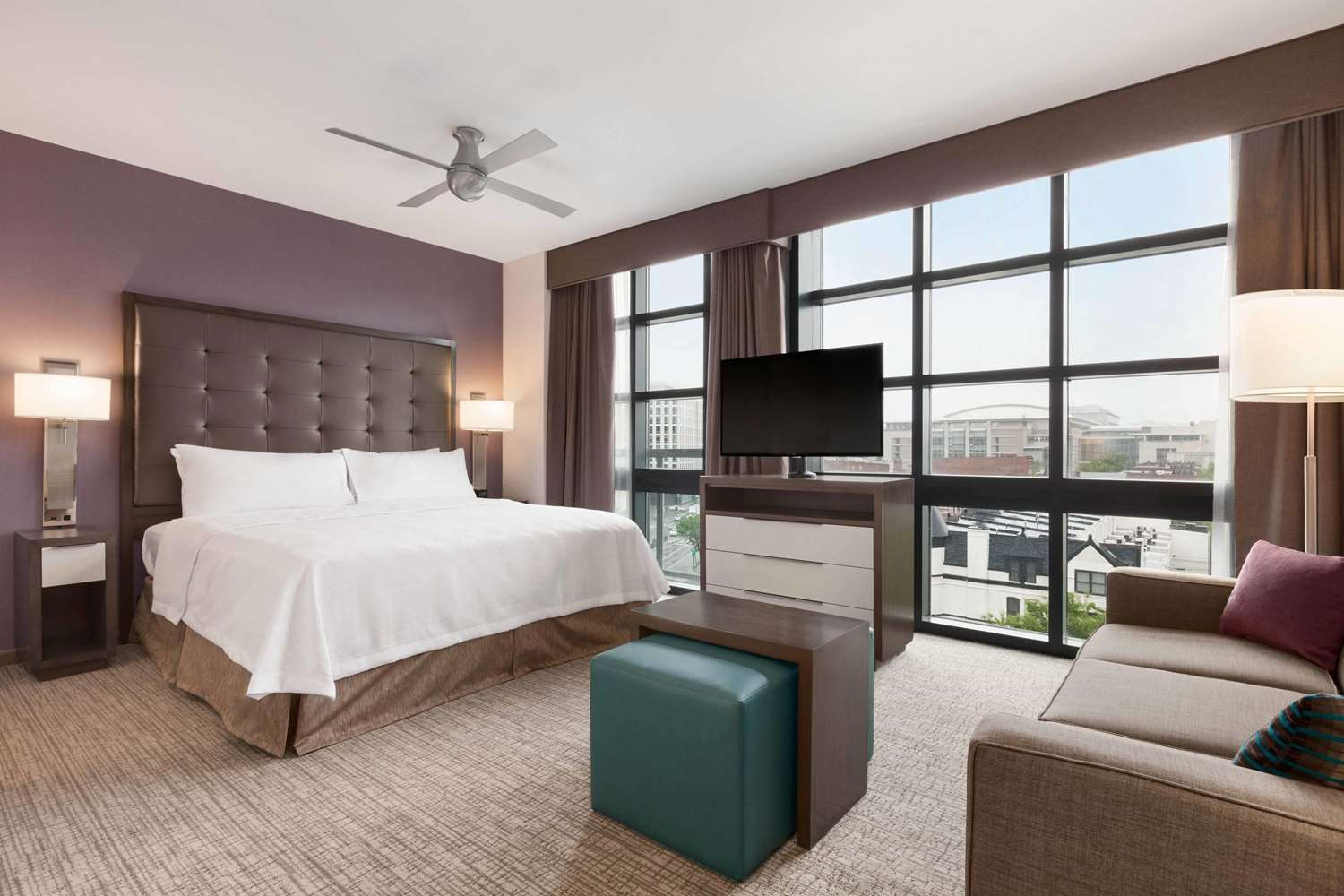 Room - Homewood Suites by Hilton Convention Center DC