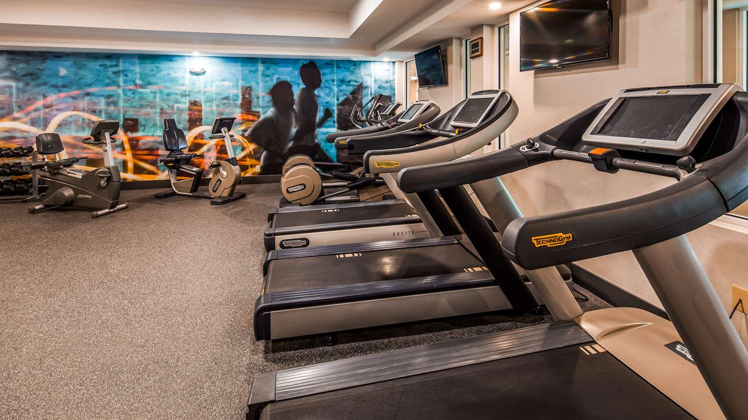 Fitness/ Exercise Room - Best Western North Shore Hotel Danvers