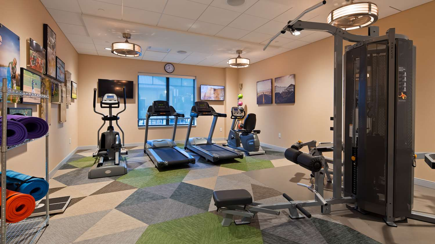 Fitness/ Exercise Room - Best Western Plus Inn at Franciscan Square Steubenville