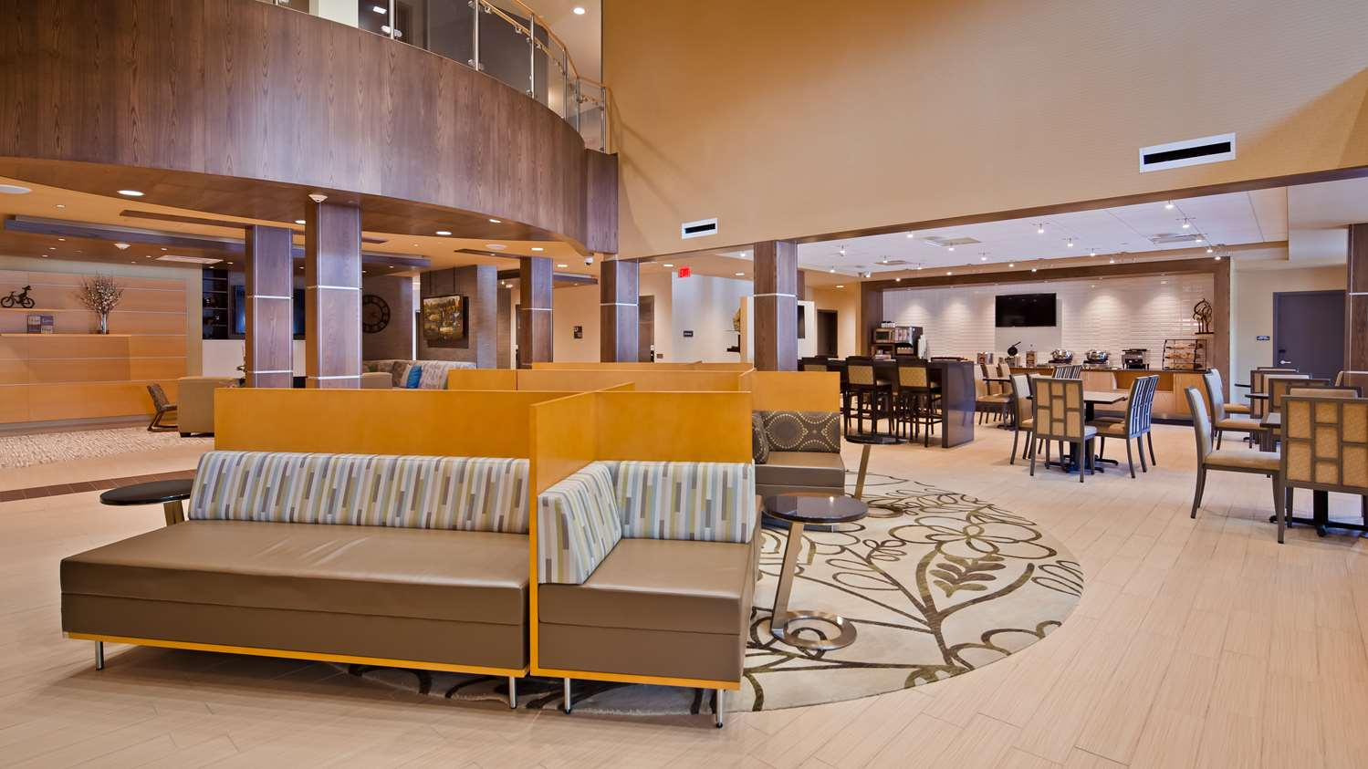 Lobby - Best Western Plus Inn at Franciscan Square Steubenville