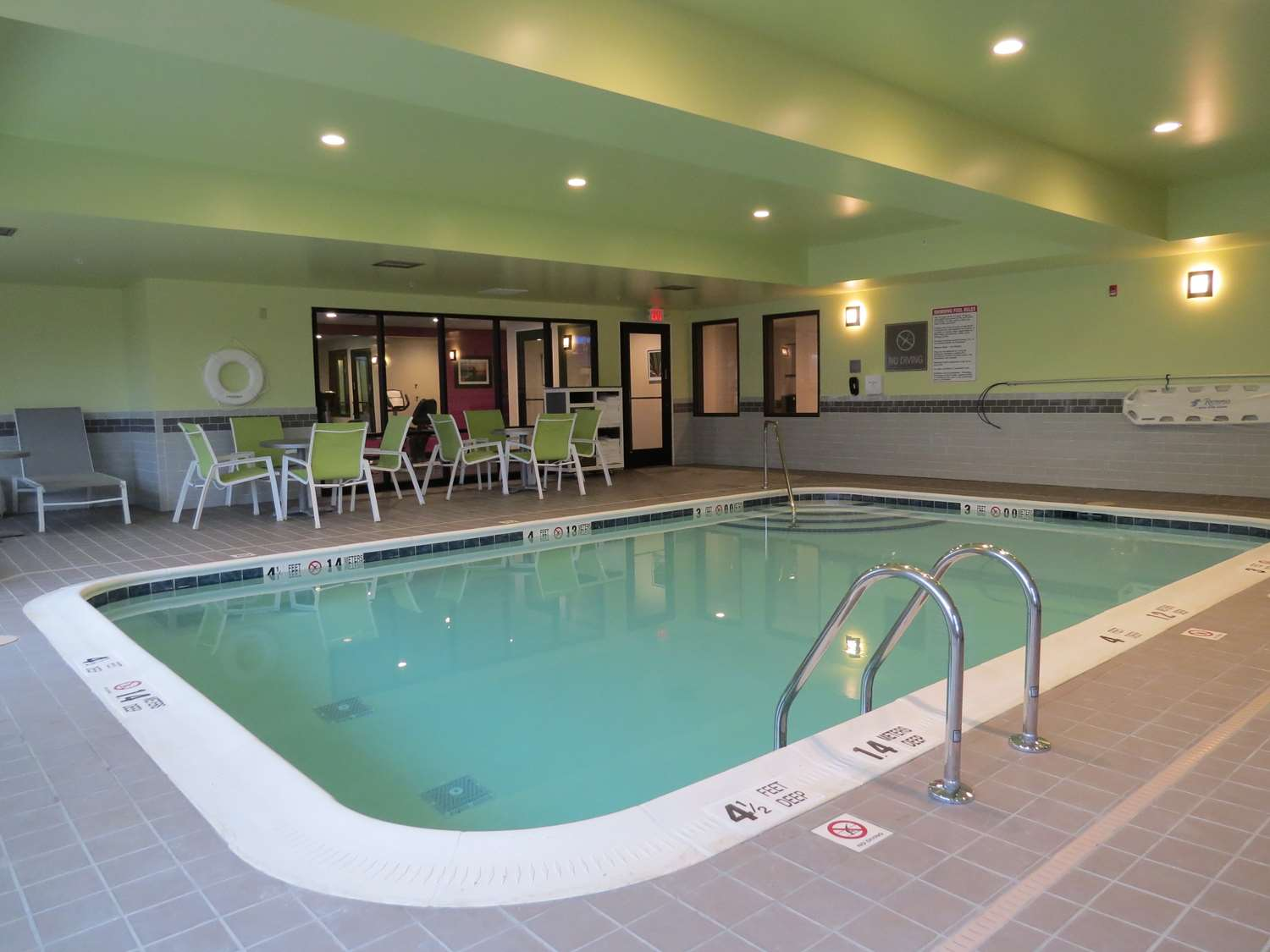 Pool - Best Western Plus Erie Inn & Suites