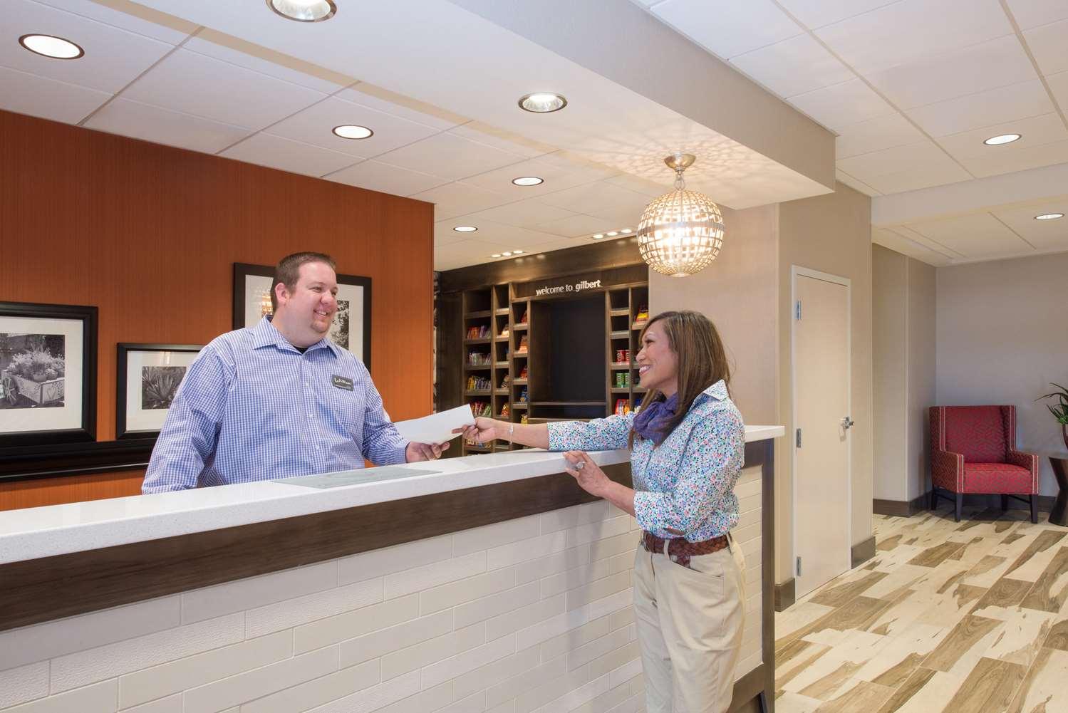 Lobby - Hampton Inn & Suites East Gilbert