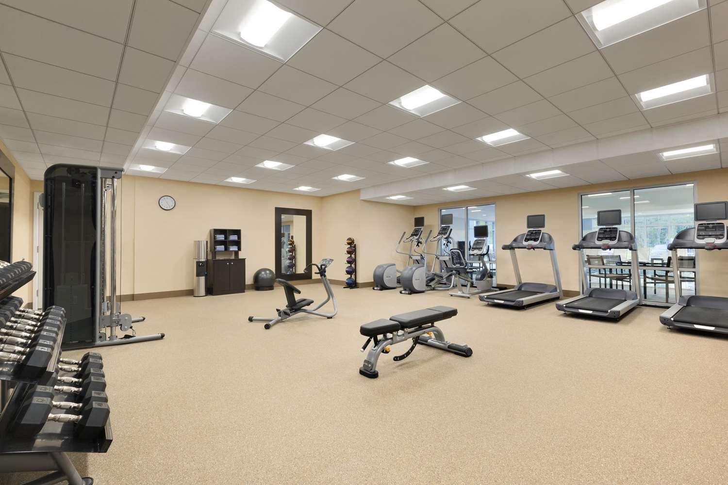 Fitness/ Exercise Room - Homewood Suites by Hilton Augusta