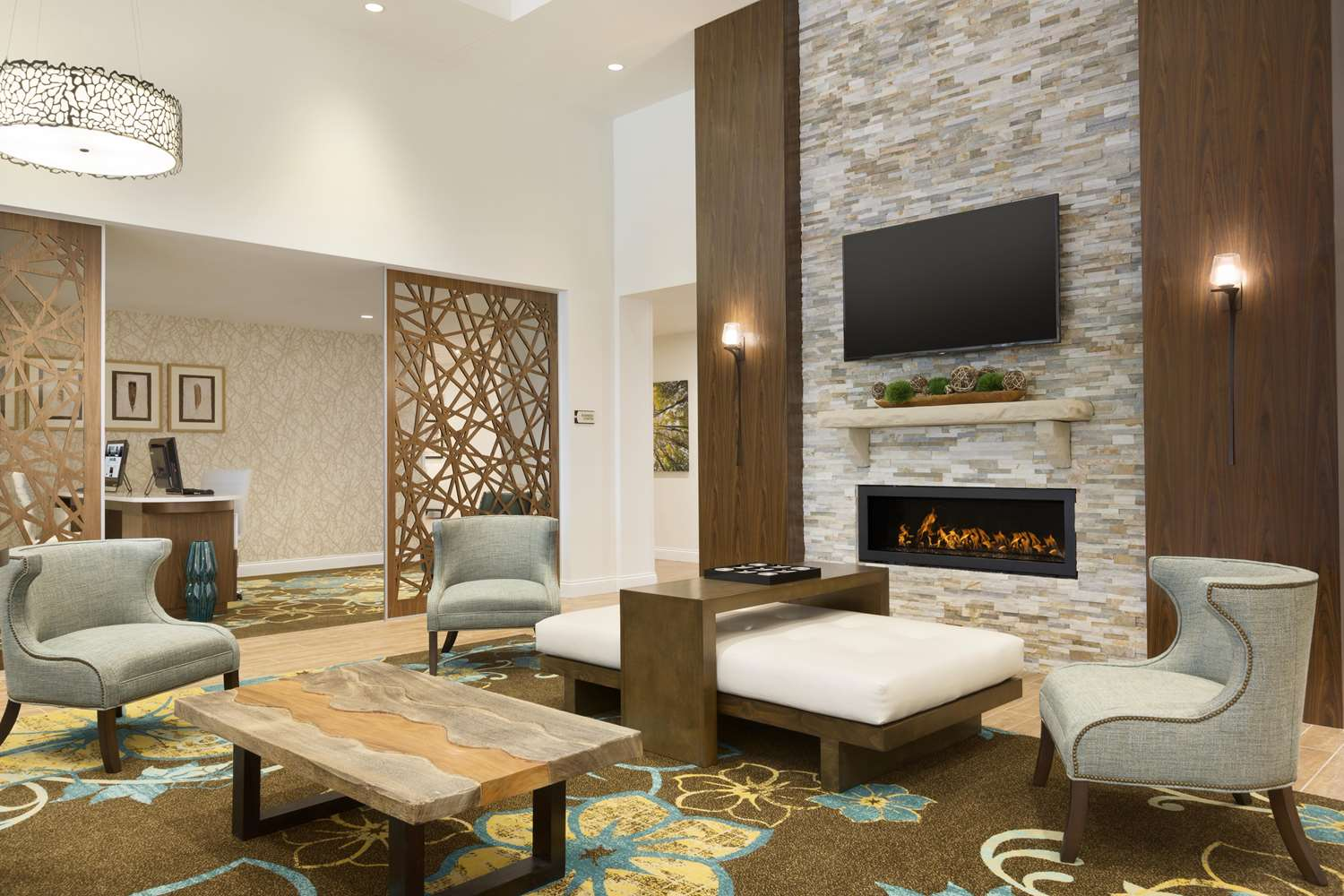 Lobby - Homewood Suites by Hilton Augusta