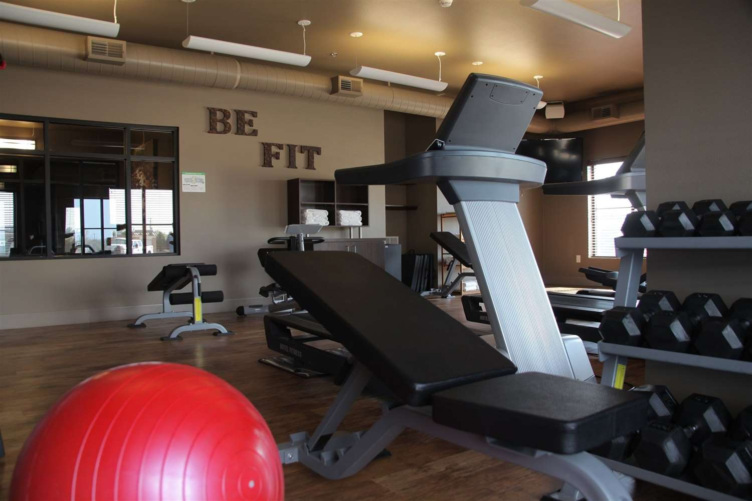 Fitness/ Exercise Room - Teddy's Residential Suites New Town
