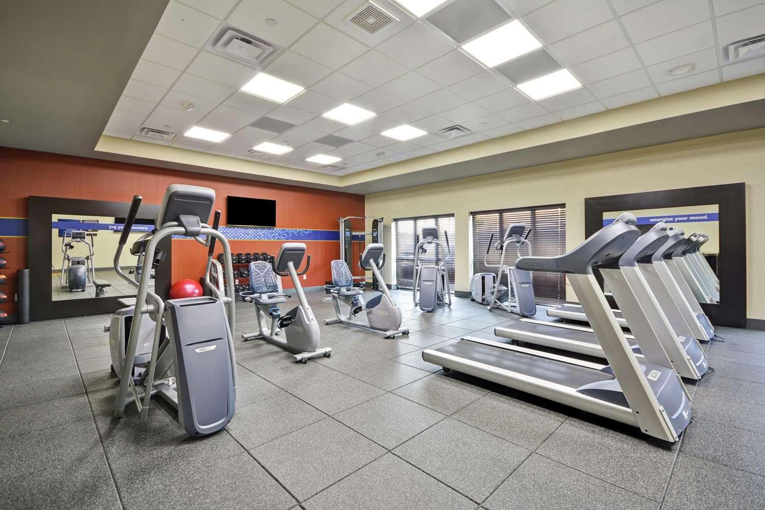Fitness/ Exercise Room - Hampton Inn Blue Ash