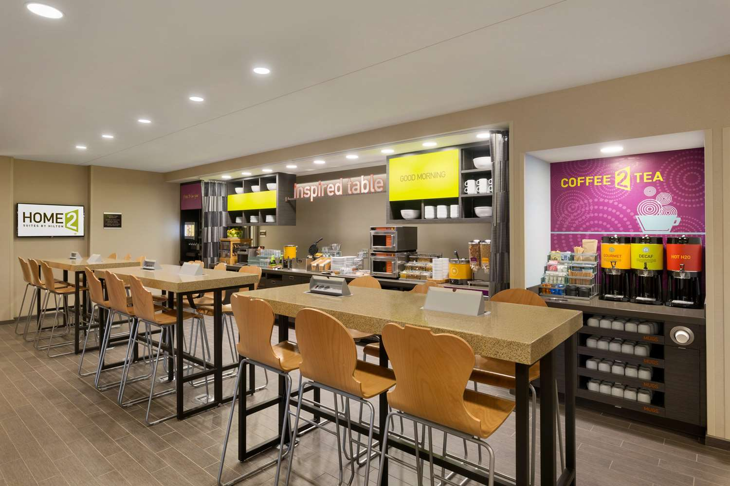 Restaurant - Home2 Suites by Hilton York