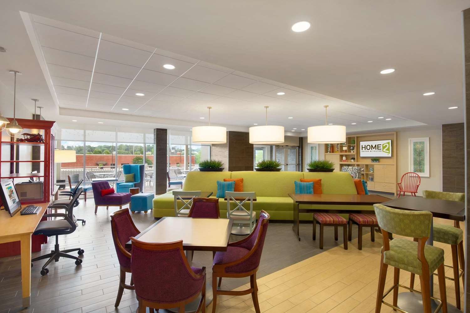 Lobby - Home2 Suites by Hilton York