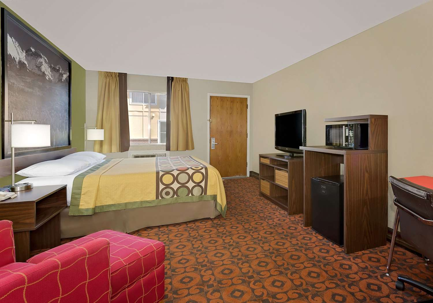 Room - Super 8 Hotel Central Denver