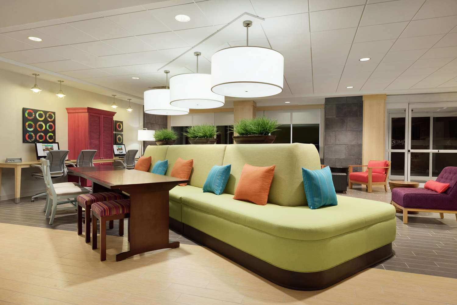 Lobby - Home2 Suites by Hilton Roseville
