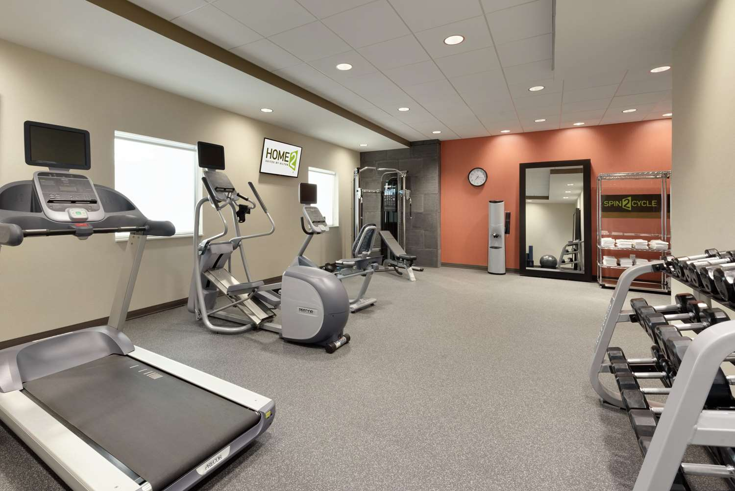Fitness/ Exercise Room - Home2 Suites by Hilton Roseville