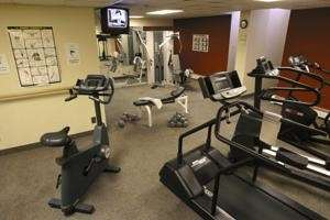 Fitness/ Exercise Room - Tunnel Mountain Resort Banff
