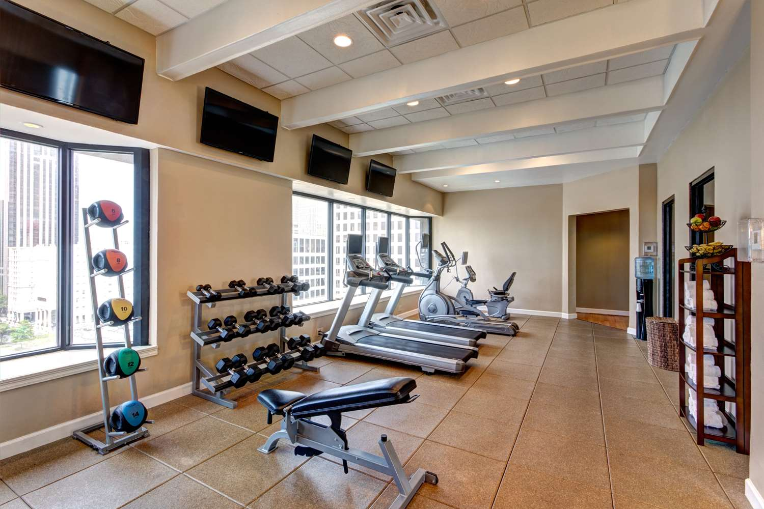 Fitness/ Exercise Room - Blake Hotel New Orleans