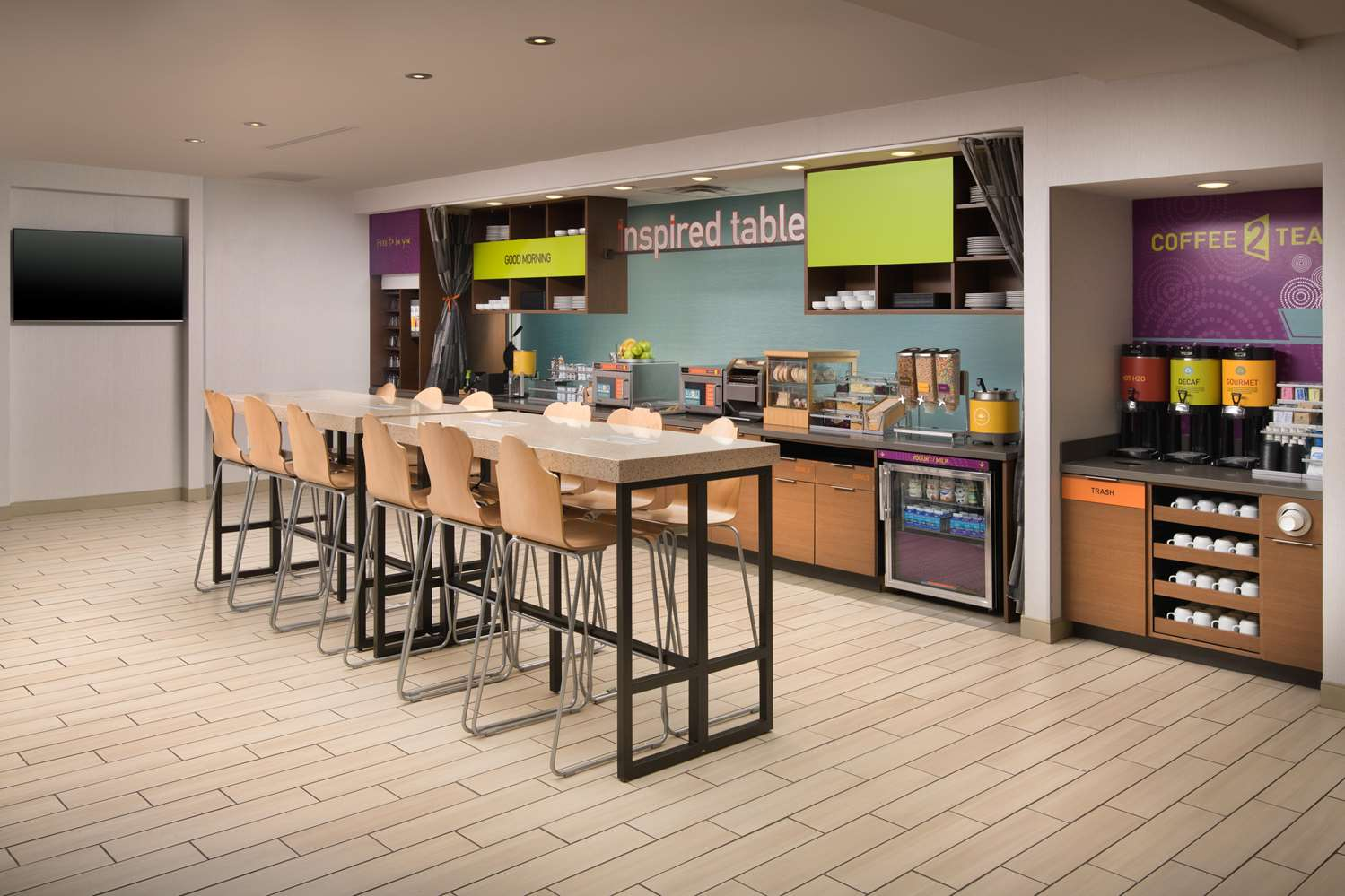 Restaurant - Home2 Suites by Hilton Franklin
