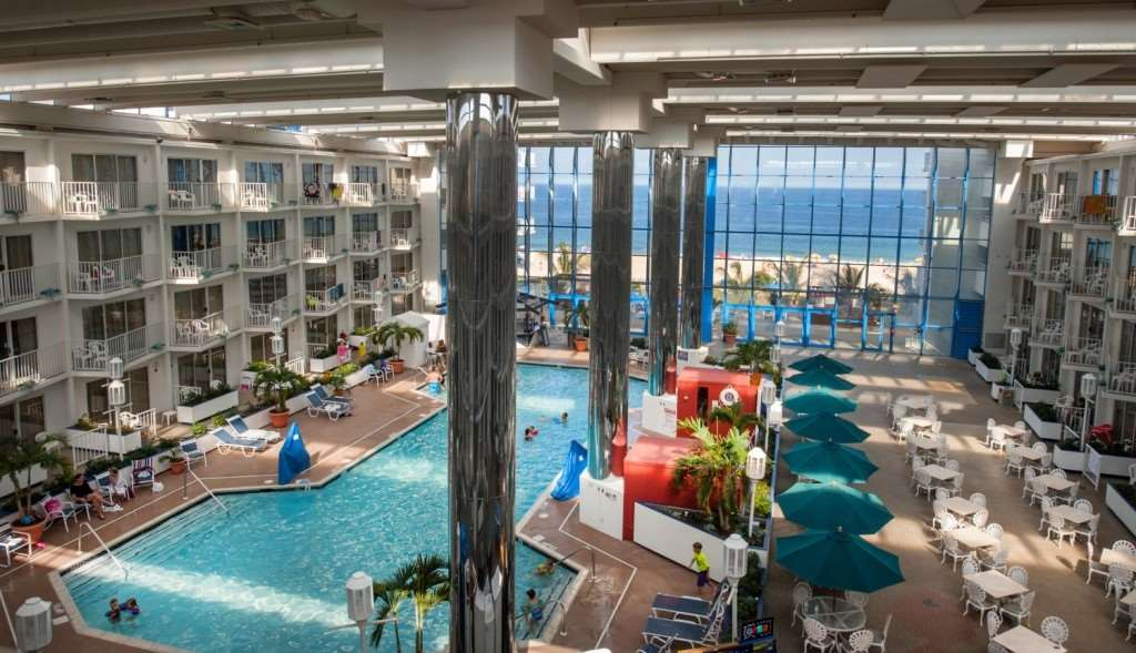 Lobby - Princess Royale Resort Ocean City