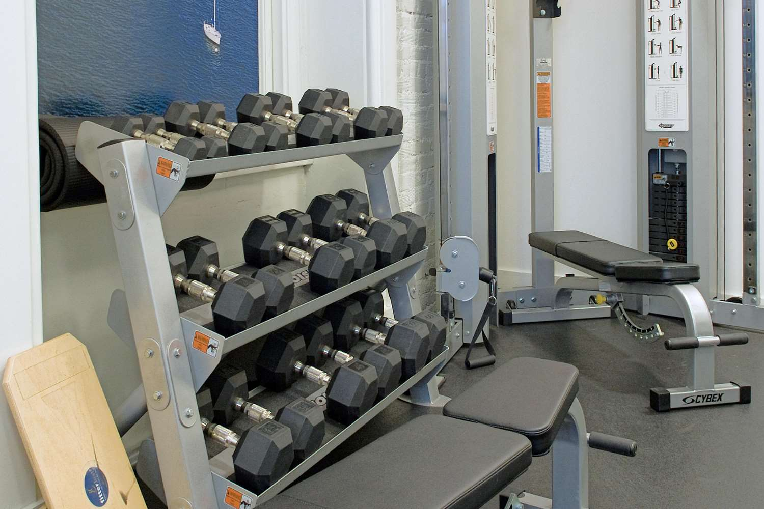 Fitness/ Exercise Room - Ames Boston Hotel