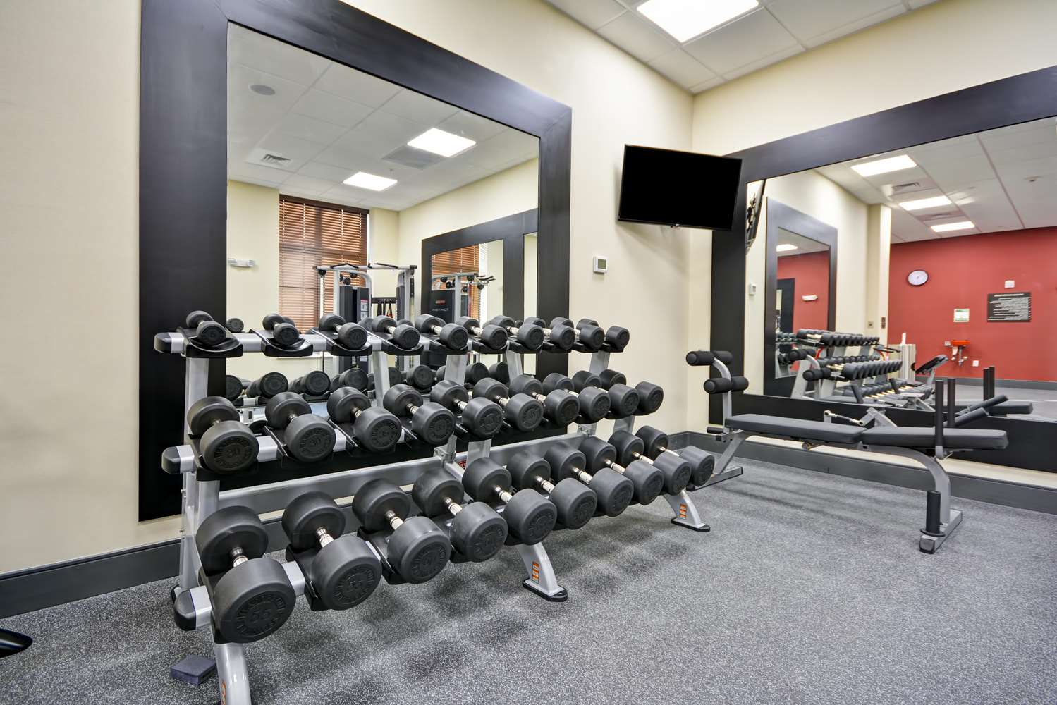 Fitness/ Exercise Room - Homewood Suites by Hilton Galveston