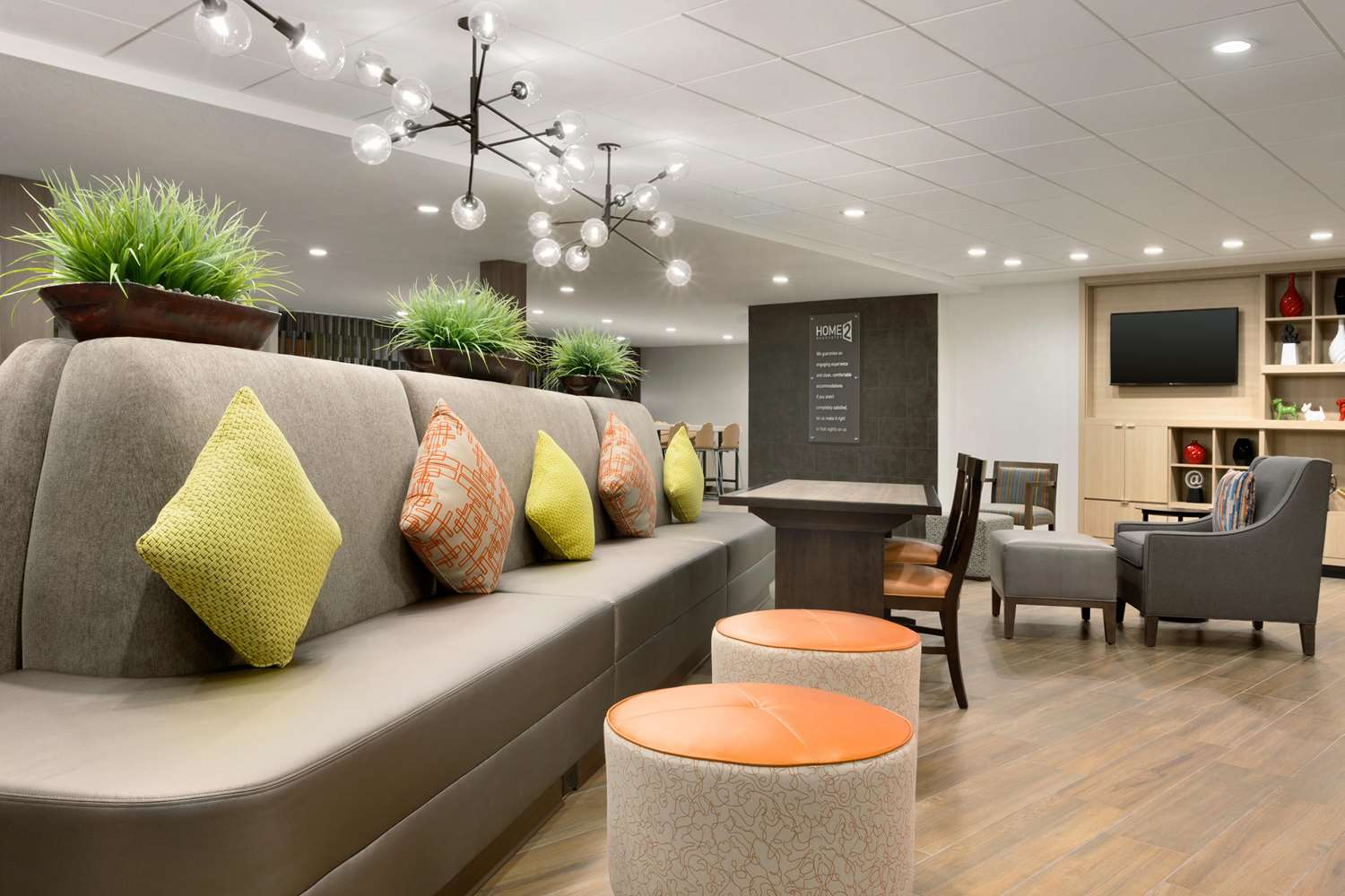 Lobby - Home2 Suites by Hilton Woodlands Shenandoah