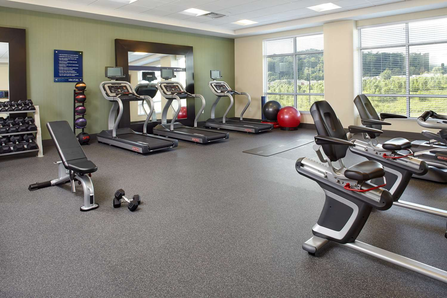 Fitness/ Exercise Room - Hampton Inn & Suites Airport South Pittsburgh