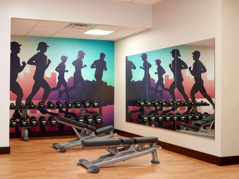 Fitness/ Exercise Room - Hyatt Place Hotel Courthouse Arlington