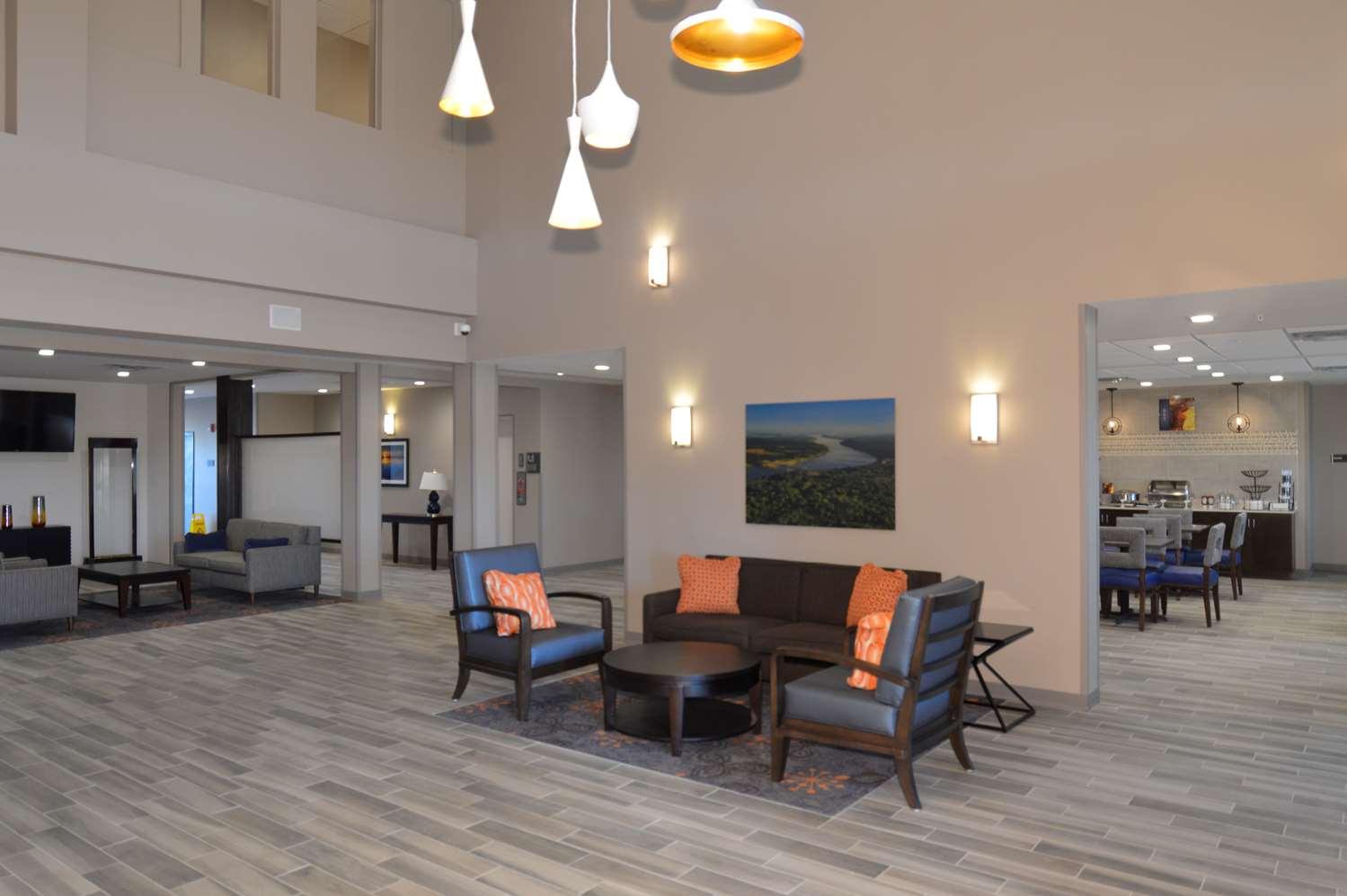 Lobby - Best Western False River Hotel New Roads