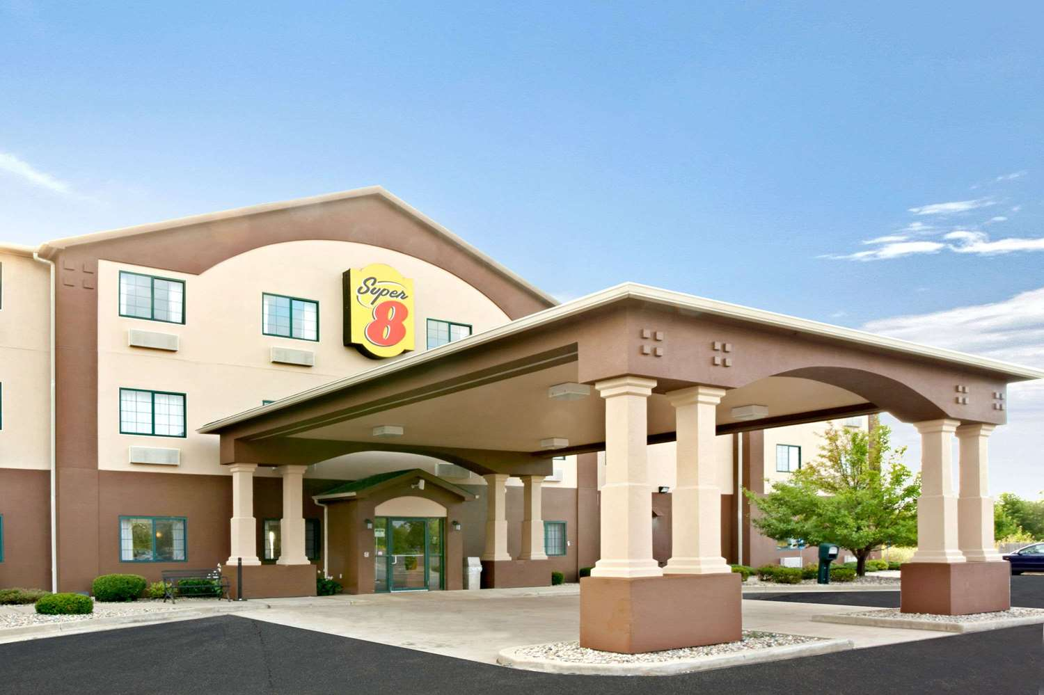 Exterior view - Super 8 Hotel South Bend