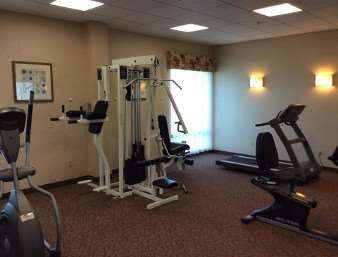 Fitness/ Exercise Room - Super 8 Hotel Natchez