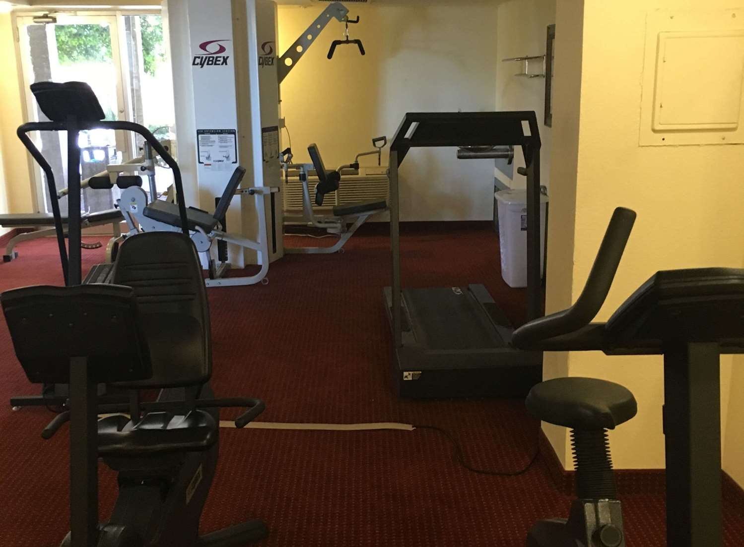 Fitness/ Exercise Room - Ramada Hotel ASU Tempe
