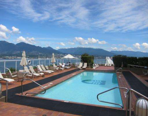 Pool - Pan Pacific Hotel Vancouver