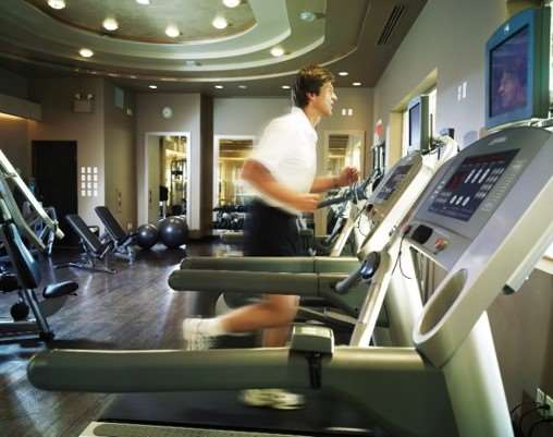 Fitness/ Exercise Room - Pan Pacific Hotel Vancouver
