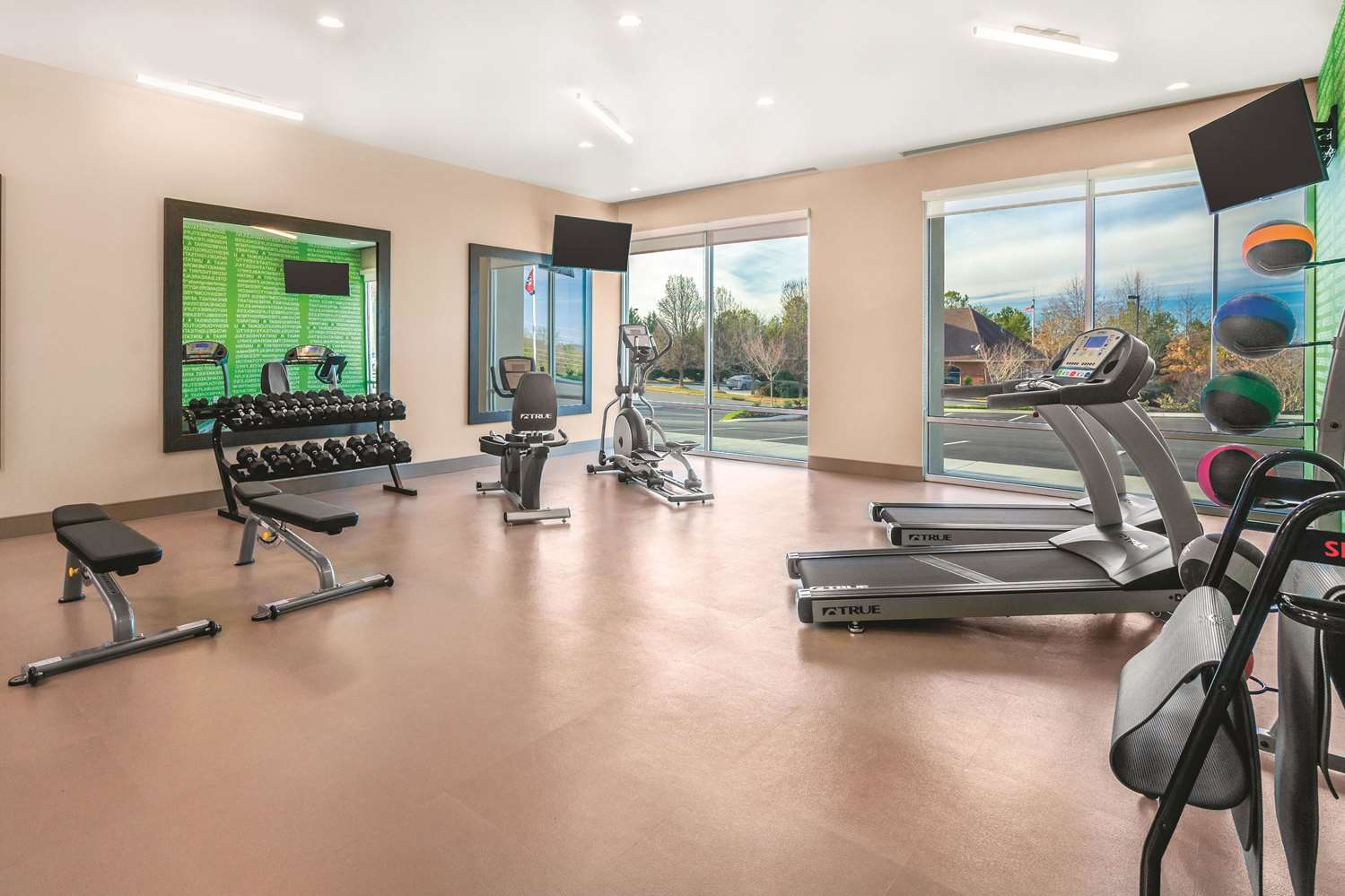Fitness/ Exercise Room - La Quinta Inn & Suites Cleveland