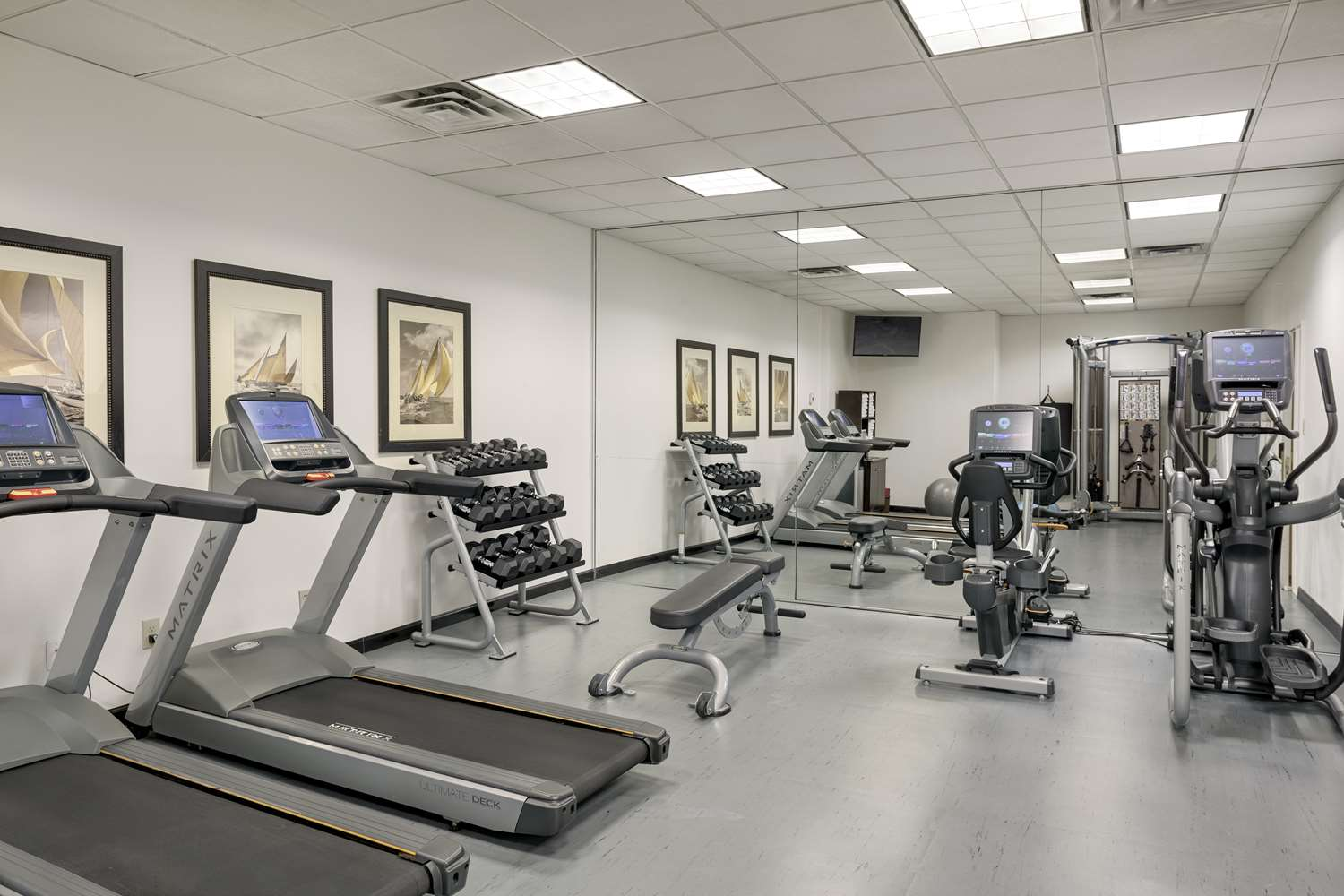 Fitness/ Exercise Room - Georgian Court Hotel Vancouver