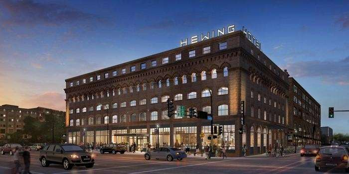 Exterior view - Hewing Hotel Minneapolis