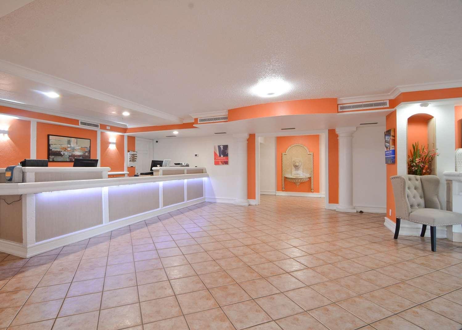 Lobby - Americas Best Value Inn West Medical Center Little Rock