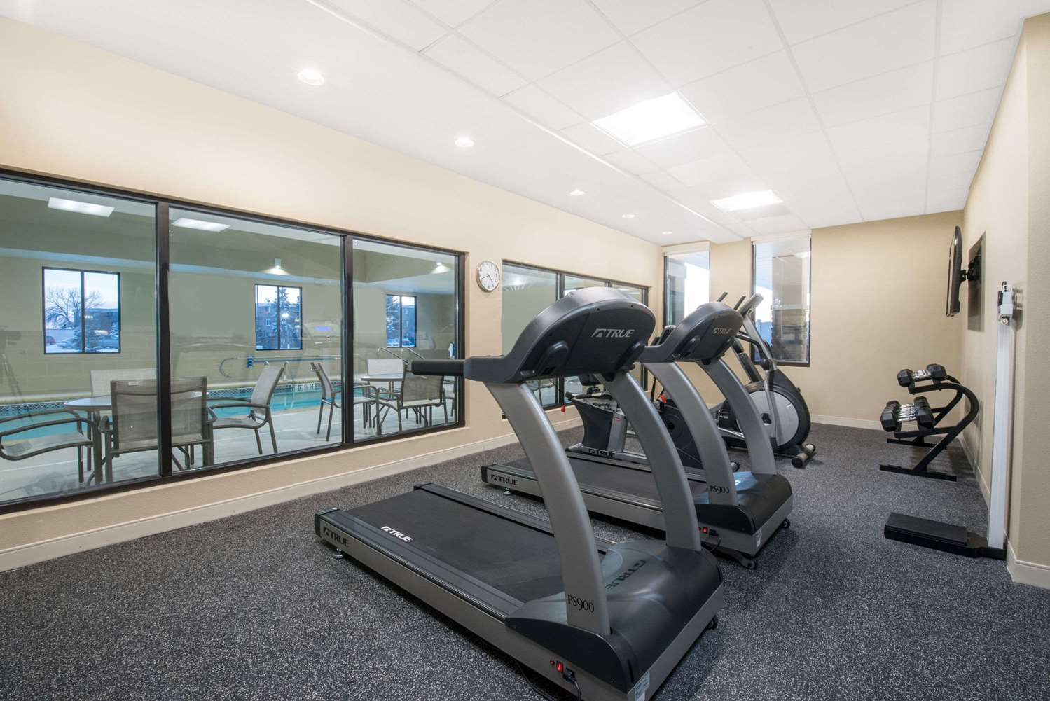 Fitness/ Exercise Room - Hawthorn Suites by Wyndham Fargo