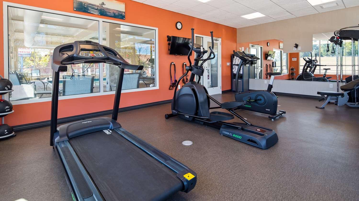 Fitness/ Exercise Room - Best Western Gettysburg Hotel