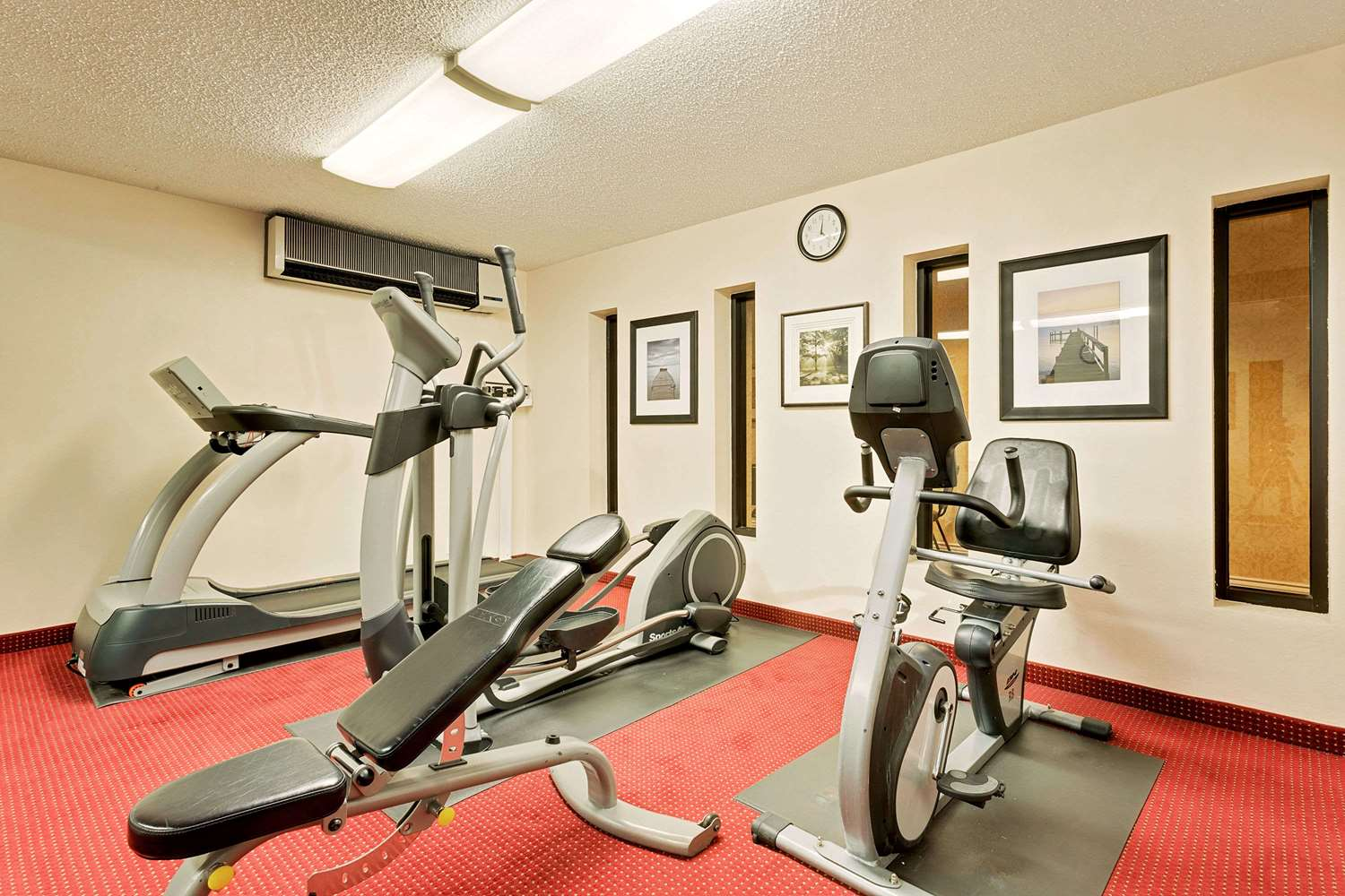 Fitness/ Exercise Room - Ramada Hotel Towne Center Provo