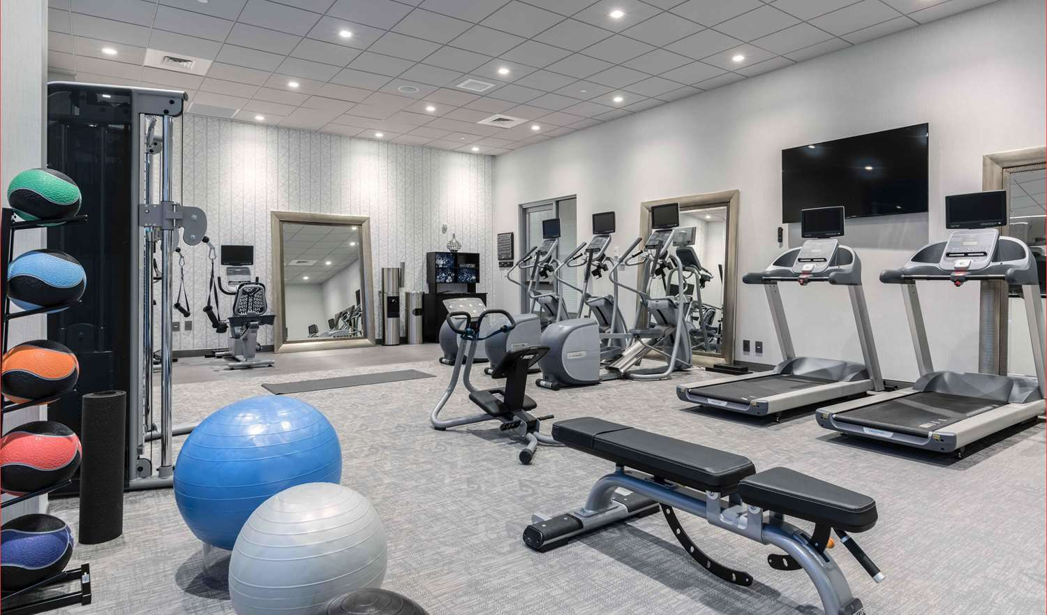 Fitness/ Exercise Room - Homewood Suites by Hilton Chelsea