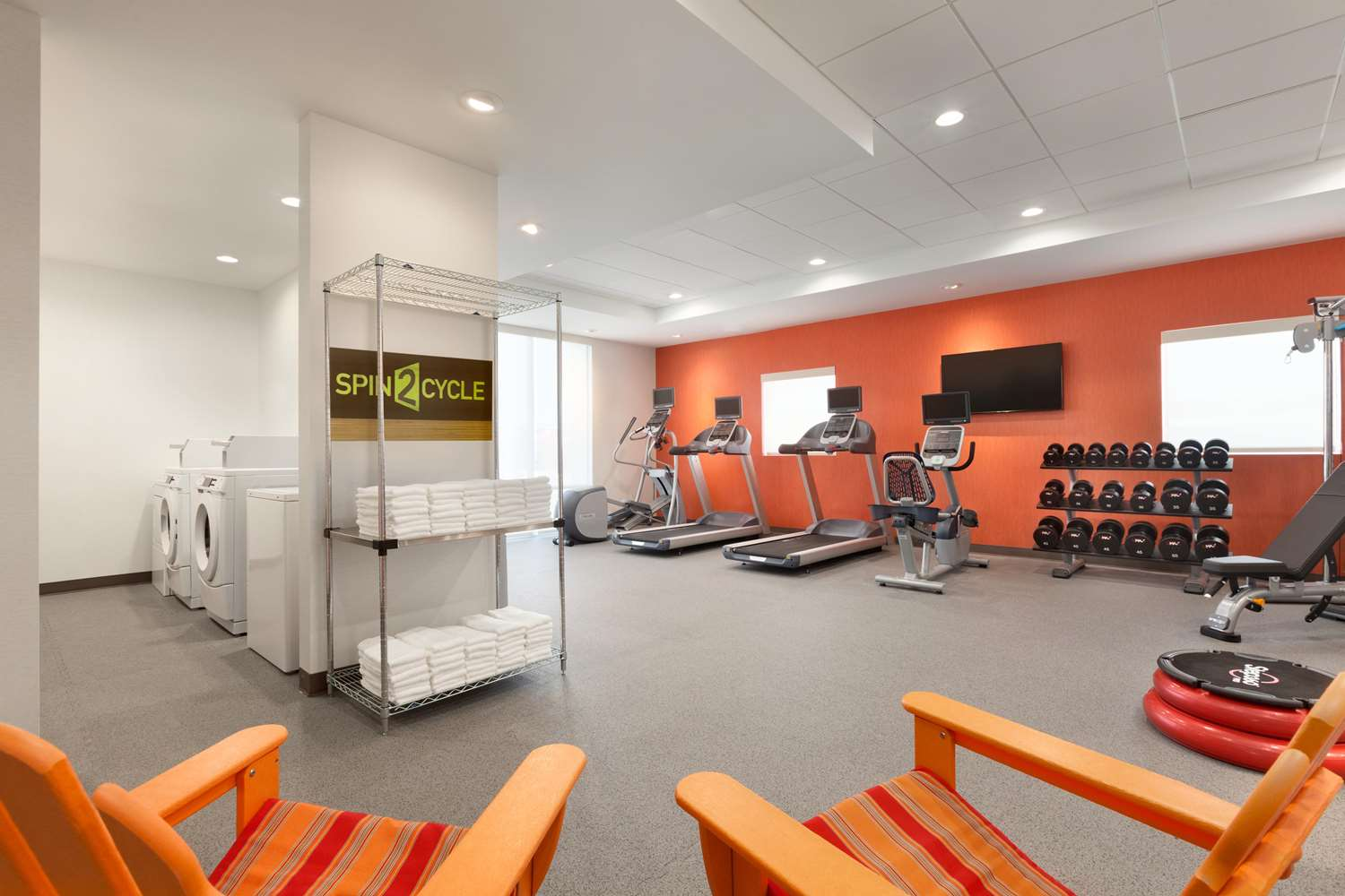 Fitness/ Exercise Room - Home2 Suites by Hilton El Paso