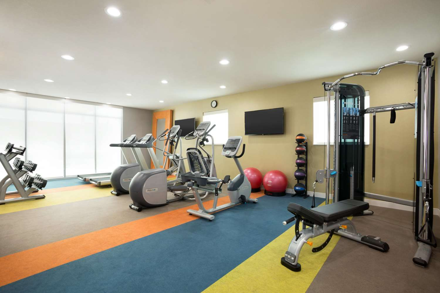 Fitness/ Exercise Room - Home2 Suites by Hilton Webster